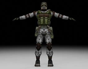 Stalker - Monolith Soldier 04 3D model