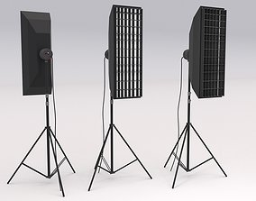 Softbox Studio Light 02 3D model