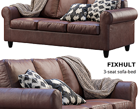 3D model Ikea Fixhult sofa