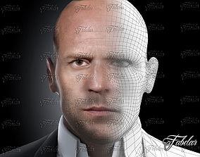 3D model Jason Statham Vray