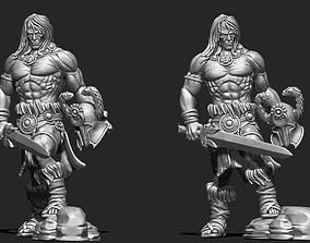 The barbarian - 3D Print Model print