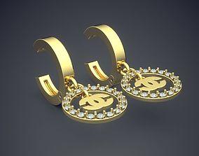 3D print model Fancy Unique Earrings