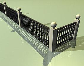 railing 01 3D model