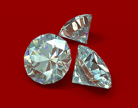 Well cut Diamond 3D