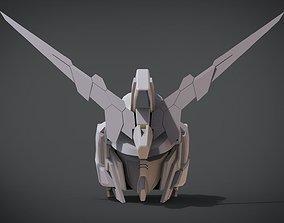 3D print model Gundam Unicorn Head