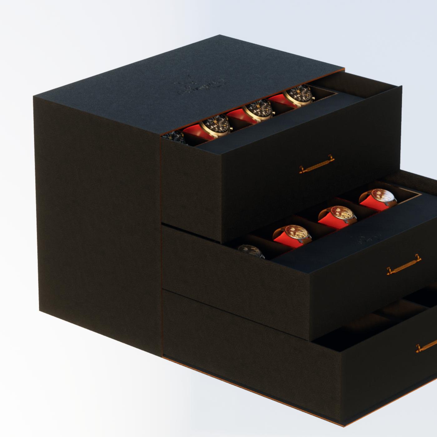 Clock Box for brand
