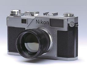 video Nikon S3 Film Camera 3D model