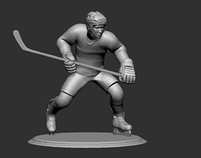 Hockey Player Collectible Figure Statue 4