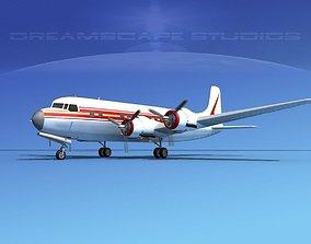 Douglas DC-6 Executive 3D