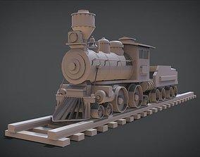 3D printable model Wooden Train