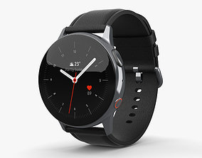 3D model Samsung Galaxy Watch Active 2 40mm Stainless 1