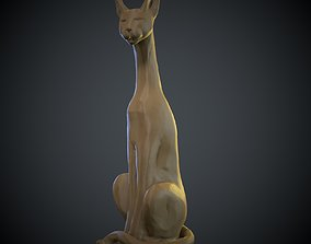 Cat sculpture 3D model