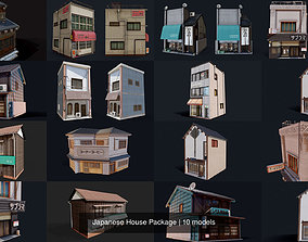 Japanese House Package 3D