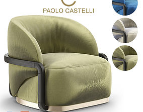 3D Lady Peacock Armchair from Paolo Castelli