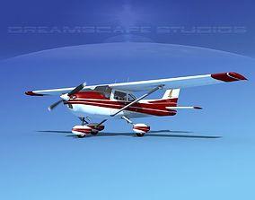 Cessna 172 Skyhawk 1976 V11 3D model