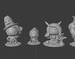 Dungeon Doodz Delving pack 3D print model