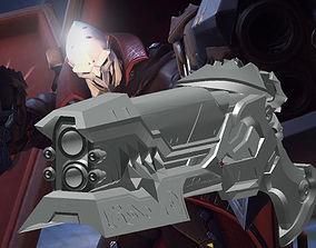 3D printable model Overwatch Reaper Dracula Hellfire
