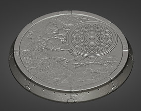 Pedestal for characters 01 - 05 3D print model