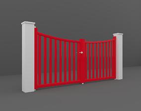 landscape Outdoor Gate 3D