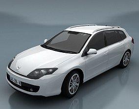 3D asset Renault Laguna kombi