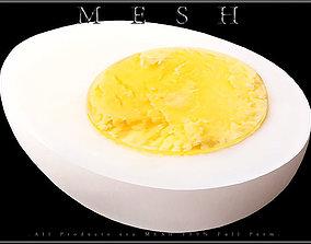 Half of Egg 3D model