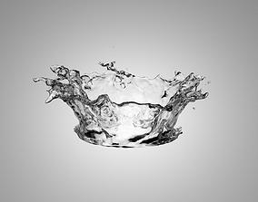 3D Splash Water drop