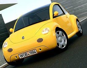 3D model Volkswagen Concept 1 1994