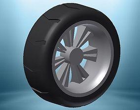 Car Wheel 3D printable model