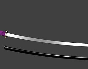 3D asset muramasa demon sword