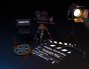Film Equipment 3D model