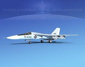 3D General Dynamics F-111 Aardvark v03