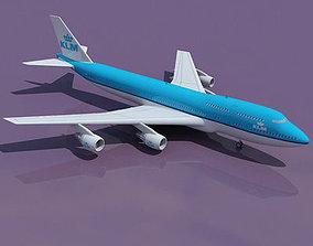 3D Korean Air Boeing