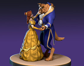 3D print model Beauty and the Beast