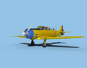 North American AT-6 Texan V14 France 3D