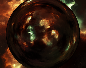 Nebula Space Environment HDRI Map 017 3D