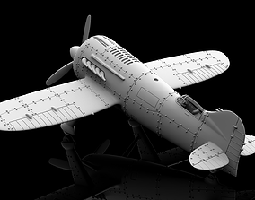 3D print model Stylized Vintage Aircraft
