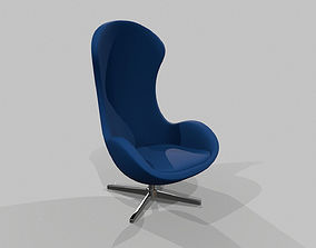 furniture 3D model realtime Chair
