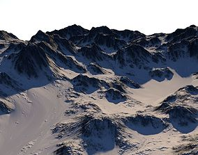 3D model Snow Terrain