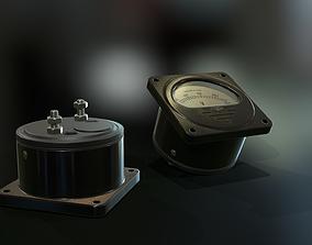 3D model C24M USSR Voltmeter