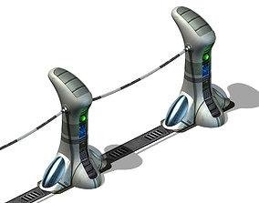 Star Alliance - Roadside Tower 3D model