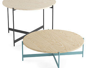 3D Mesa Plano table by Paola Lenti