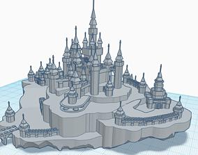 Medival model of Castle