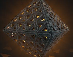 Sci-Fi Shapes Impeetus The Sign of Energy 3D
