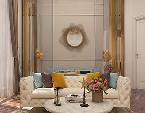 Luxury Master Bedroom 3D model
