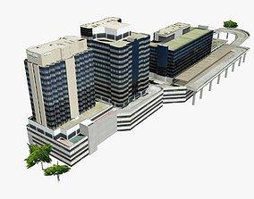 3D model Brisbane Transit Center