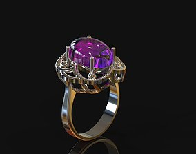 ring oval for print 3d