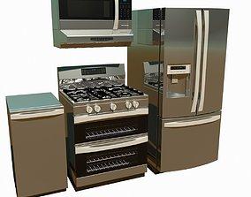 3D model Kitchen Appliances design