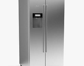 3D BOSCH - KAD92AI30 - Serie 6 American-style fridge