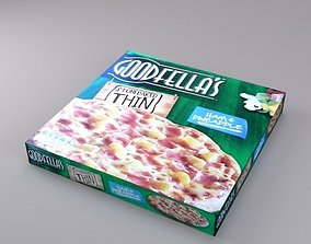 Pizza Box - LOW POLY 3D asset VR / AR ready