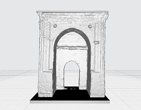 Historical Gate- Building Structure- 3d printer